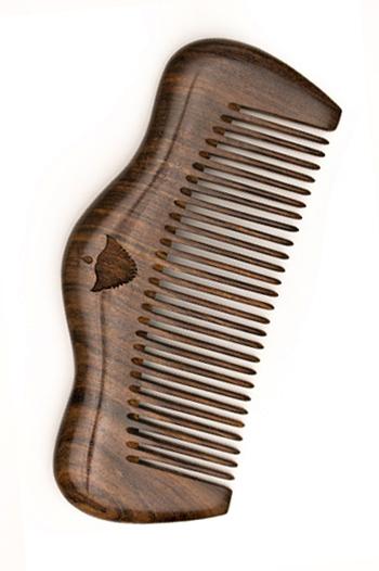 """Дървен гребен за брада и коса BRADABRAT COMB """"Luxury"""""""