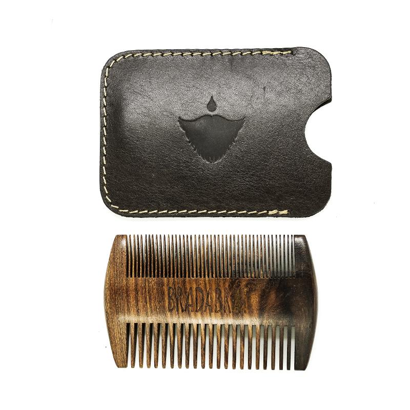 гребен за брада мустаци beard comb
